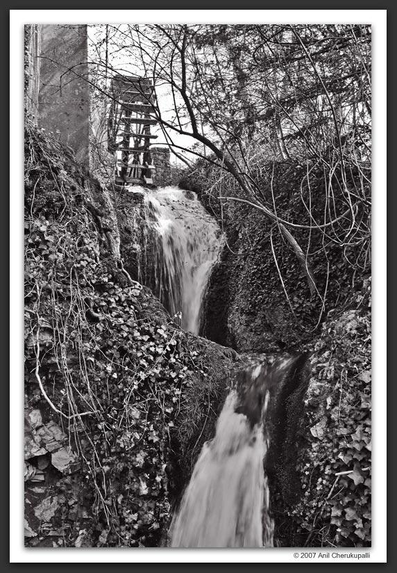 One Wheel, Two Waterfalls