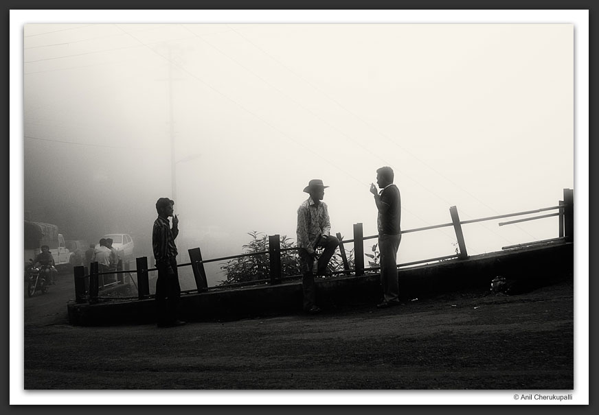 Smokers in the Fog